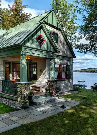 lakeside maine cottage tms architects