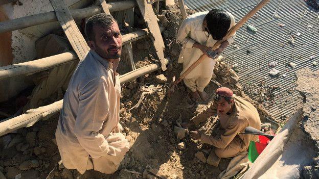 Personas en Afganistán