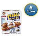Little Debbie Blueberry Little Muffins, 8.27 oz (Pack of 6)