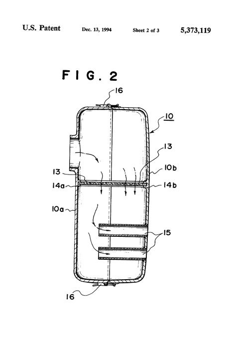 Patent US5373119 - Exhaust muffler for internal combustion