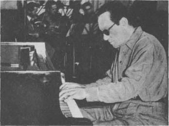 Carlos Di Sarli grabando en 1958