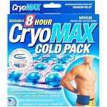 """Cryo-MAX Reusable Cold Pack with Flexible Straps, Medium (12"""" x 6"""")"""