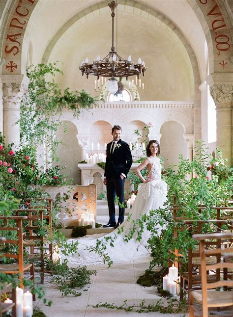 Luxe Wedding in a French Chateau by Sylvie Gil   Wedding