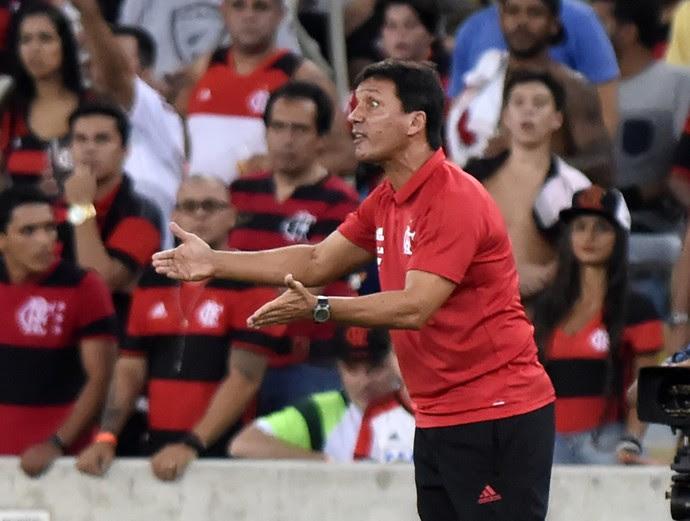 Zé Ricardo - Flamengo x San Lorenzo (Foto: André Durão)