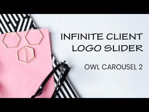 Brand Logo slider with Owl Carousel 2 ( Source Code