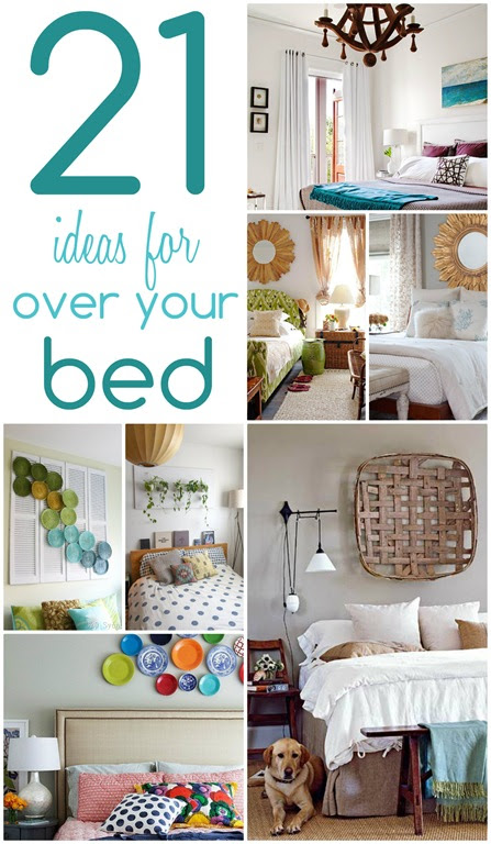 21 Ideas For Decorating Over Your Bed Christinas Adventures