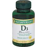 Nb Vitamin D1000 Size 200ct Nb Vitamin D1000 200ct -PACK 3