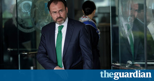 Mexico will not accept unilateral Trump immigration steps, foreign minister says | World news | The Guardian