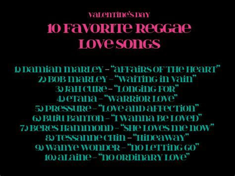 Top 10 Reggae Love Songs   Style & Vibes