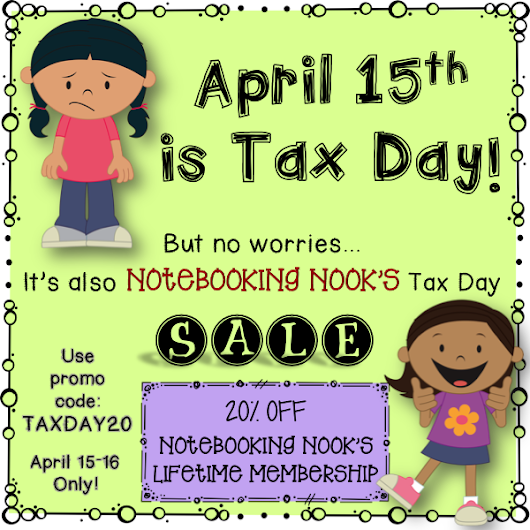 Tax Day Sale on Lifetime Membership