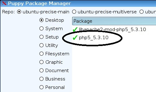 Web Server Part 2 – Adding php