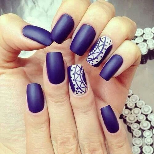 newest nail design trends 2014 fall 2014 nail trend matte nails