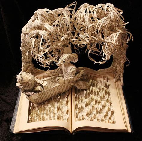 Stories From Books Come To Life In Paper Sculptures By