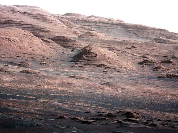 Curiosity Monte Sharp (Foto: Nasa/JPL-Caltech/MSSS)