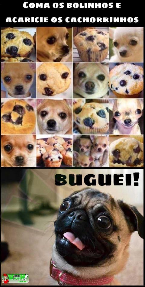 Blog Viiish - Cachorros ou bolinhos?