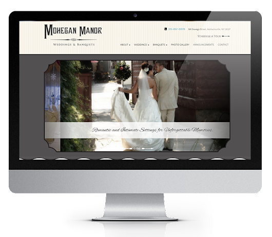 Wedding Venue Web Design