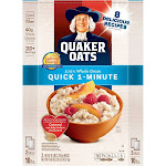 Quaker Oats Quick 1-Minute Oatmeal - 2-5 lb box