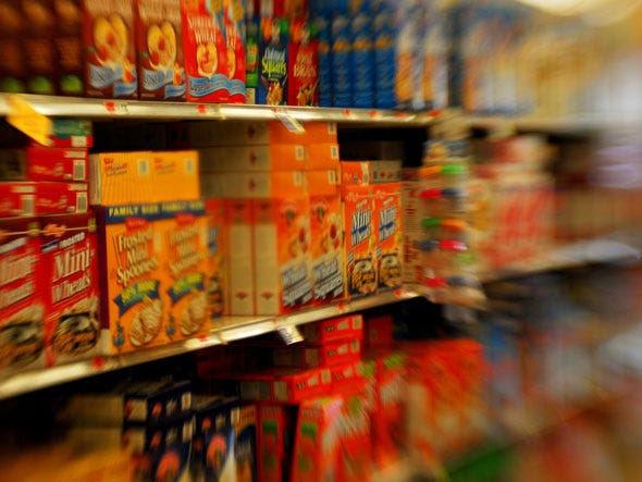 Και έπειτα υπάρχει παιδί το ύψος των ματιών.  Αυτό είναι όπου θα βρείτε τα ζαχαρούχα δημητριακά, Εύκολη Mac και άλλα αντικείμενα από ένα παιδί θα αρπάξει και ικετεύουν τους γονείς του για να αγοράσει.
