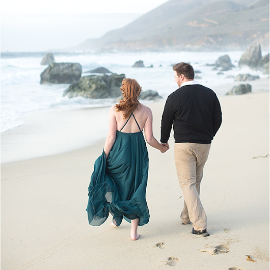 Big Sur Anniversary Session | Lauryn & Mitch | Laura & Rachel Photography