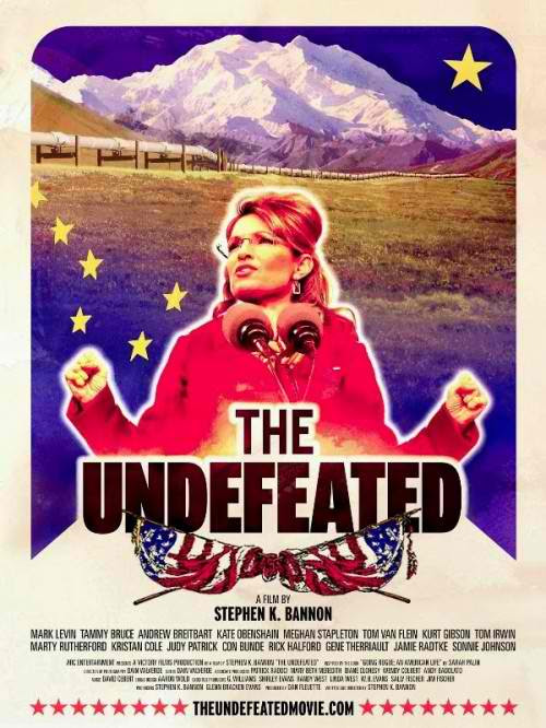 sarah palin the undefeated movie poster