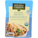 Seeds of Change Rishikesh Whole Grain Brown Basmati Rice 8.5 Ounce - PACK OF 12