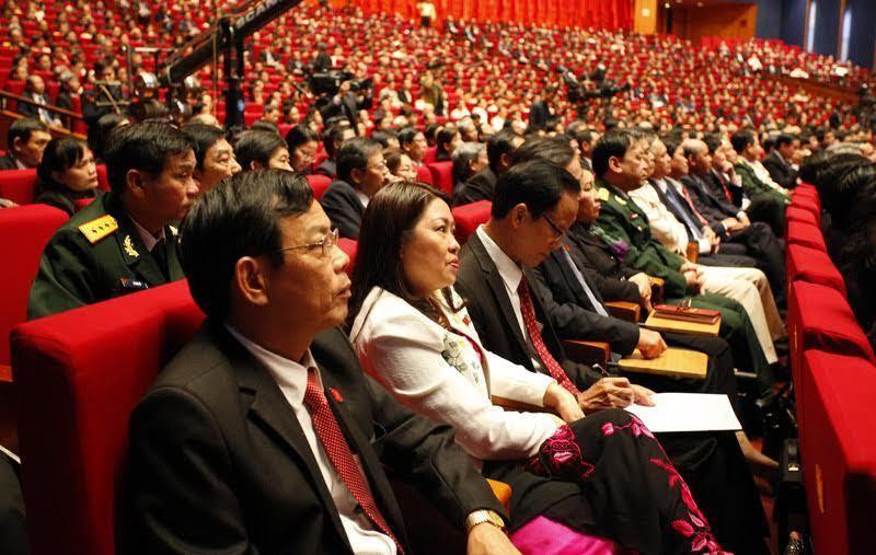 đại hội đảng 12, nhân sự, ban chấp hành Trung ương