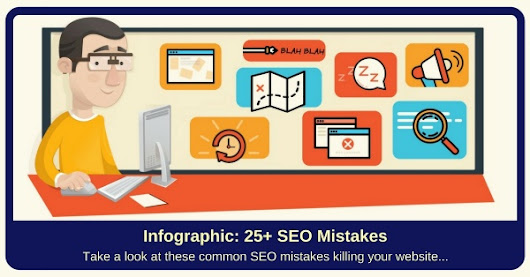 Infographic: Common SEO Mistakes (killing your website)