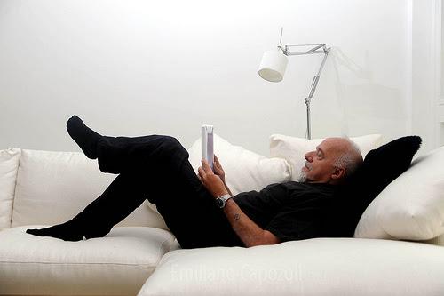 Paulo Coelho, foto de Emiliano Capozoli.