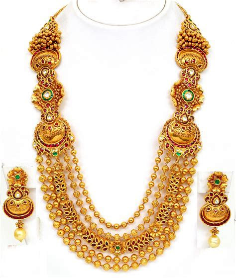 Latest Bridal Gold jewelry Design For Girls
