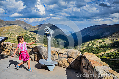 Editorial Photography: Rocky Mountain Joy - Alpine Visitor Center - Rocky Mountain Nati