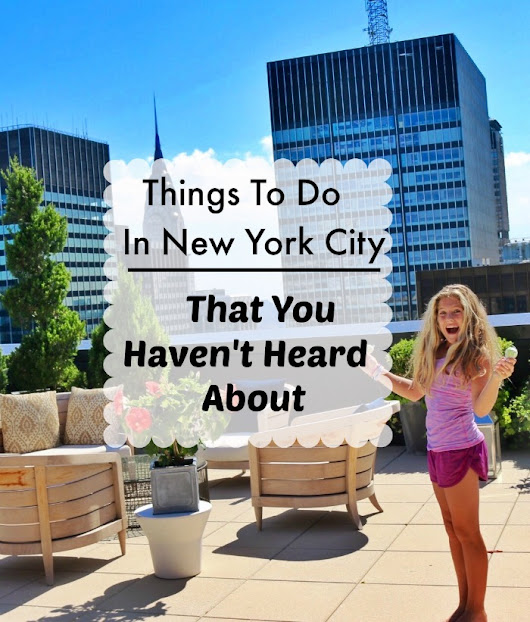 Fun Things To Do In New York City That You Haven't Heard About