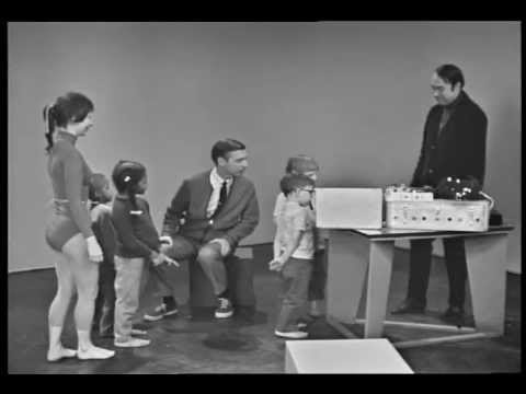 Mr. Rogers Introduces Kids to Experimental Electronic Music by Bruce Haack & Esther Nelson (1968)
