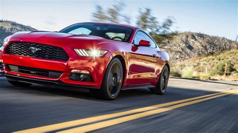 ford mustang ecoboost   slower report updated