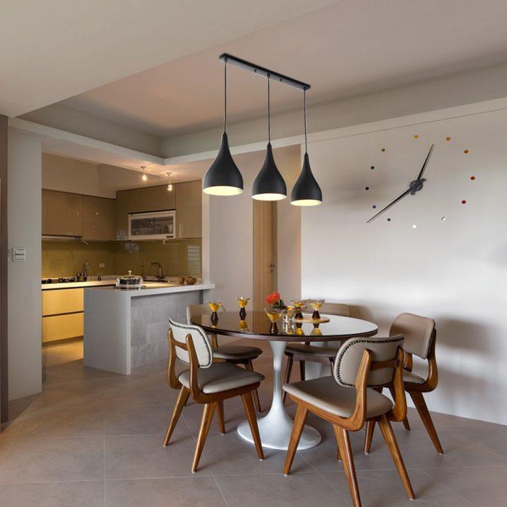 pendelleuchte wohnzimmer pendelleuchten led schwarz modern