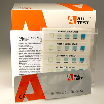 40 Pack All Test Saliva Alcohol Test Strips – Angelscope International Ltd