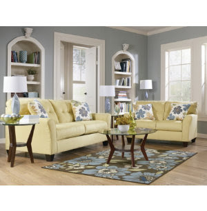 Kylee Sofa & Loveseat Set - Art Van Furniture