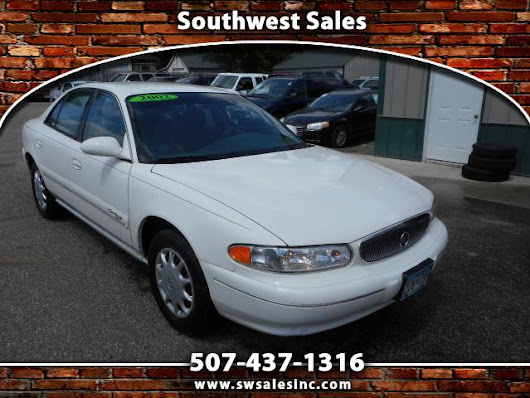 Used 2002 Buick Century Custom for Sale in Austin MN 55912 Southwest Sales