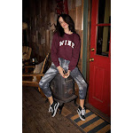 Sub_Urban Riot | Wine Willow Sweatshirt | Burgundy