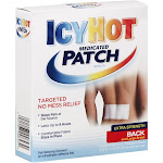 Icy Hot Medicated Patch, Extra Strength, Back and Large Areas - 5 patches