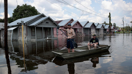 We can no longer assess hurricane and flood risk by looking in a rear-view mirror