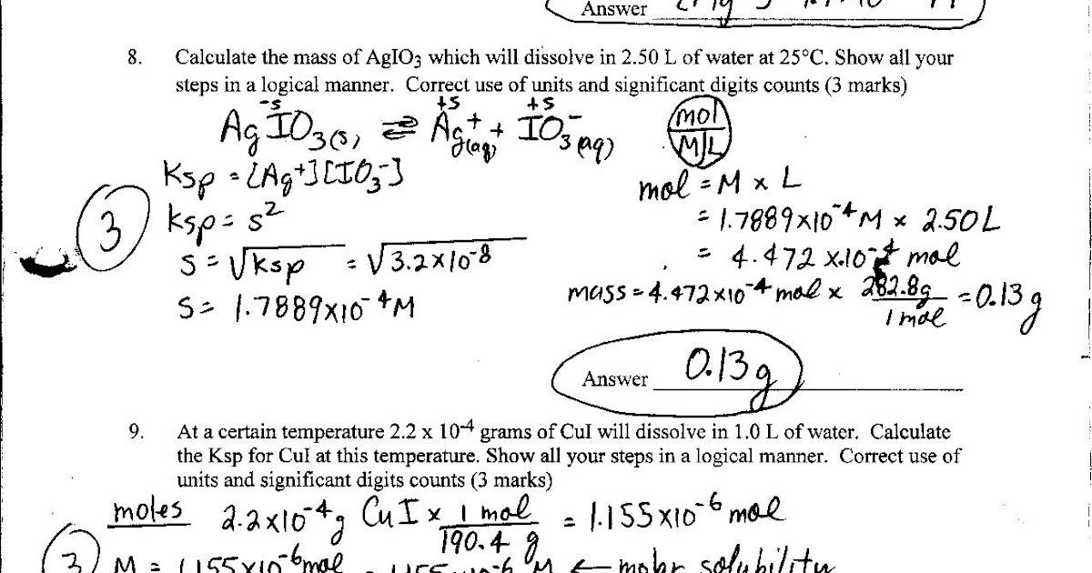 29 Stoichiometry Problems Chem Worksheet 12 2 Answer Key ...