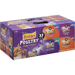 Friskies Poultry Cat Food Variety Pack - 32 count, 5.5 oz cans