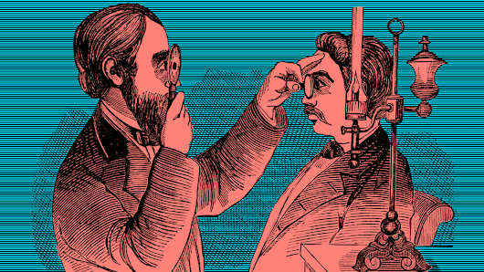 Victorians thought modern technology would make everyone blind
