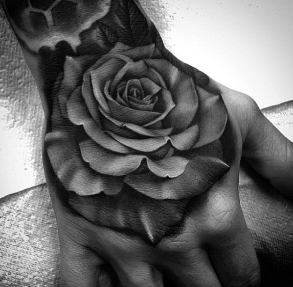 50 3d Hand Tattoo Designs For Men Masculine Ink Ideas