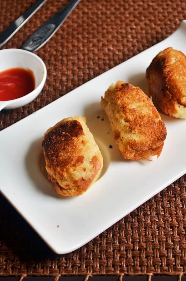 Bread rolls recipe,how to make bread rolls | Potato ...