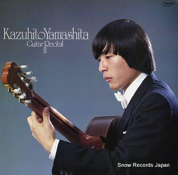 YAMASHITA, KAZUHITO guitar recital ii