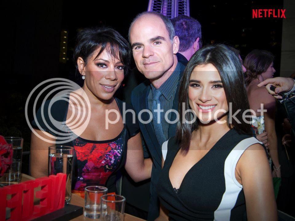 Charlie Cox de Daredevil, Selenis Leyva y Diane Guerrero de OITNB