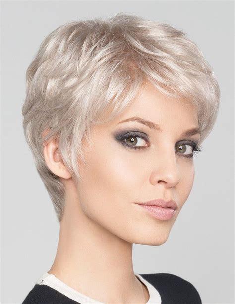 short pixie cut silver grey hair wig rewigscom