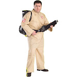 """Plus Size Ghostbusters Costume - Size 50"""""""