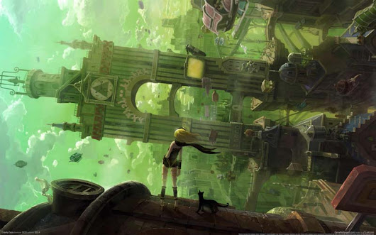 [Ps Vita] Gravity rush ou la fille qui parlait à son chat ! - Japanmania